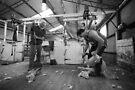 Noel Mc Naulty & Richard Stephenson, Shearers, Logan, Victoria, Australia by Michael Boniwell