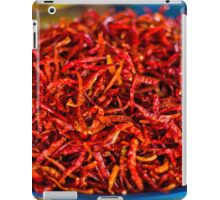 Spicy red hot chilies iPad Case/Skin