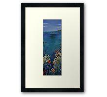 Beauty Below Framed Print