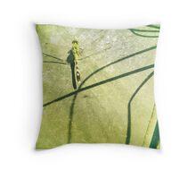 Shadowfly Throw Pillow