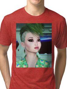 Flight attendant Tri-blend T-Shirt