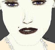 Wonder.. Blue by mysteryfaith