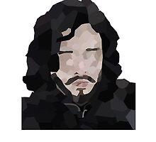 Polygon Jon Snow by originalpuzzle