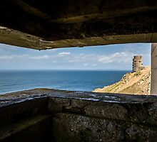 WWII Bunker view  by tracesofwar