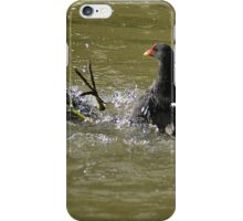 Awesome Moorhen iPhone Case/Skin