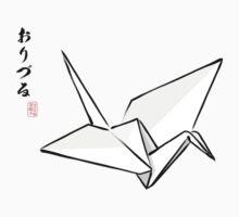 Paper Crane Color Kids Tee