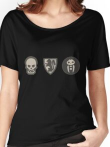 Hero Quest Dice Face's Women's Relaxed Fit T-Shirt