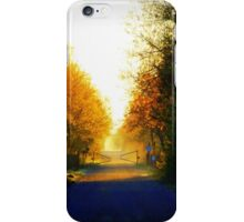 Quiet of the morning iPhone Case/Skin