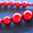 Red Beads  by Margaret Whyte