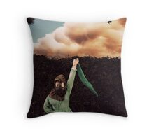 Try To Set The Night On Fire Throw Pillow