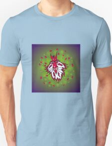 Flaming red Unisex T-Shirt