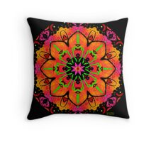 BREATHLESSLY LOST IN THE MUSIC ! Throw Pillow
