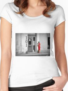 The Red Dress Women's Fitted Scoop T-Shirt