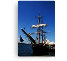 Bounty Ship Canvas Print