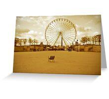 Parisian Park Greeting Card