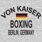 Punch-Out!!! Von Kaiser Gym by sinistergrynn