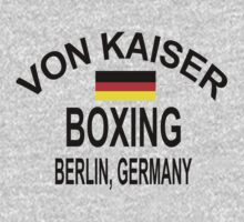 Punch-Out!!! Von Kaiser Gym by sinistergrynn