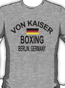 Punch-Out!!! Von Kaiser Gym T-Shirt
