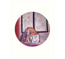 Round Window #1 Art Print