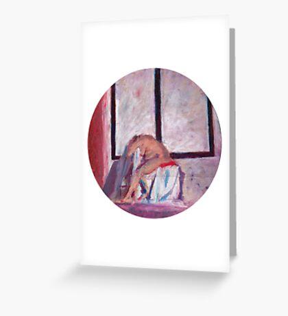 Round Window #1 Greeting Card