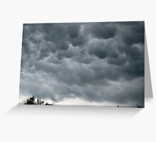 'Mama' clouds Greeting Card