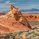 Little Monument in Valley of Fire by JHRphotoART