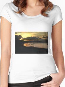 ~One Last Dip~ Women's Fitted Scoop T-Shirt