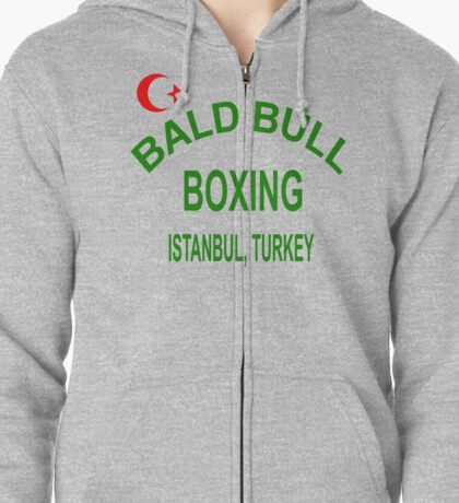 Punch-Out!!! Bald Bull Boxing Zipped Hoodie