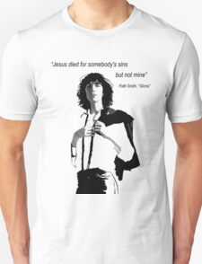Patti Smith 1 Unisex T-Shirt