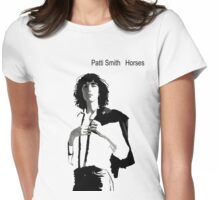 Patti Smith 2 Womens Fitted T-Shirt