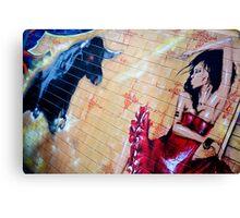 Graffiti Around Melbourne Canvas Print