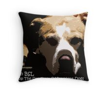 Ban BSL Throw Pillow