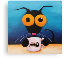 Smells like coffee Canvas Print