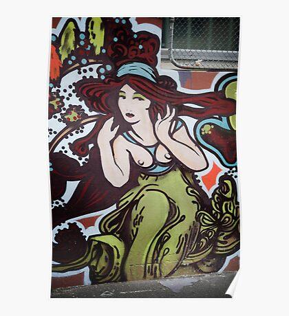graffiti Around Melbourne - 2009 Poster