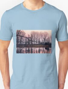 reflections on the lake Unisex T-Shirt