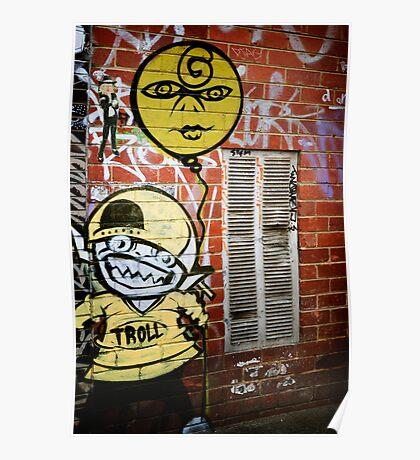 melbourne grafitti 2009 Poster
