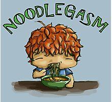 Noodlegasm Photographic Print