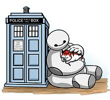 Doctor Baymax And baby Kitty by BotokPetet