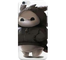 Baymax like as toothless iPhone Case/Skin