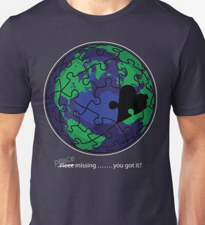 Piece missing Unisex T-Shirt