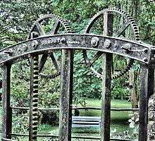 Chewton Keynsham Bridge Sluice Gate. by Clive Lewis-Hopkins.