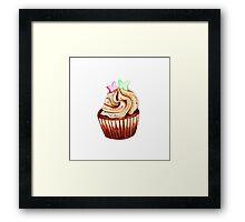 I love cupcakes! Framed Print