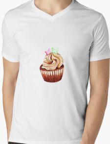 I love cupcakes! Mens V-Neck T-Shirt