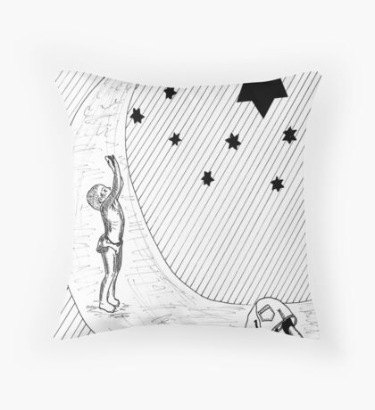 Playing with the stars Throw Pillow