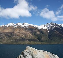Lake Wakatipu III by Paul Duckett