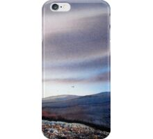 North Yorkshire Moors at Twilight iPhone Case/Skin