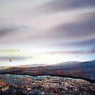 North Yorkshire Moors at Twilight by Glenn  Marshall