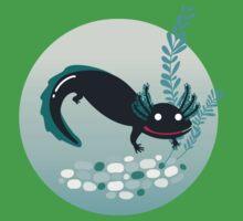 A lotl axolotl One Piece - Short Sleeve