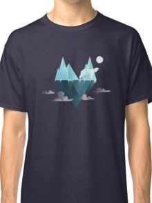Low Poly Polar Bear Classic T-Shirt