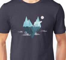 Low Poly Polar Bear Unisex T-Shirt